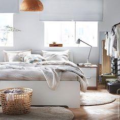 Wo wir dieses Jahr #Urlaub machen? Im #Bett natürlich. #ASKVOLL #Bettwäsche #NATTLJUS #meinIKEA