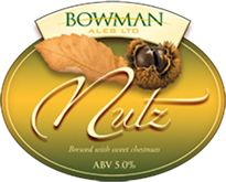 Bowman Ales Beers - Nutz - French Chestnuts