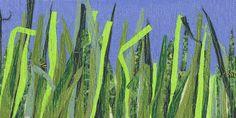 Fibre Art: Grass Cuttings - Scrap Journal