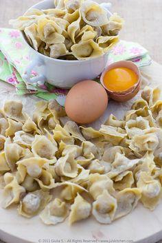 Homemade cappelletti - Emilia Romagna