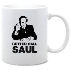Breaking Bad Better Call Saul Handmade Coffee Mug por PLAN9TSHIRTS, £5.00