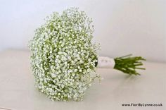 Gorgeous gypsophila bouquet for bridesmaids