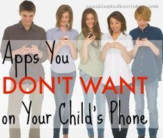 """There are so many apps available for kids, but often some of the most popular ones, especially among teens and tweens, are not meant for their age group and pose serious safety risks. Do you want to know what apps are the worst for kids? We can tell you about the """"Apps you Don't Want on Your Child's Phone"""""""