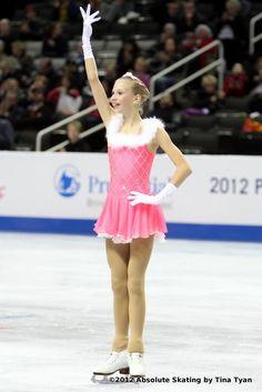 Polina Edmunds, Pink Figure Skating / Ice Skating dress inspiration for Sk8 Gr8 Designs