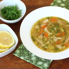 This Lemon Chicken Orzo Soup is an ultimate comfort dish. Packed FULL of rich flavors and healthy ingredients. That it's made in a slow cooker is an added bonus. Use gluten-free orzo