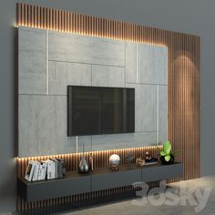 Bedroom Tv Unit Design, Tv Unit Furniture Design, Living Room Tv Unit Designs, Tv Wall Design, Home Room Design, Cabinet Furniture, House Design, Interior Design Photos, Contemporary Interior Design