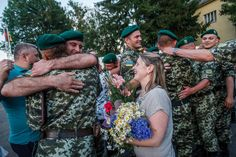 People of Transcarpathia meet soldiers who came back from war in Eastern Ukraine