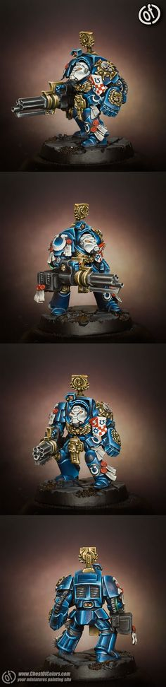 Ultramarines Terminator with Assault Cannon