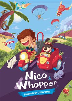 Nico&Whopper : Ilust...