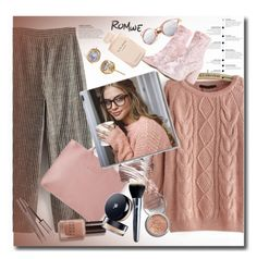 """""""Romwe 7/3"""" by pesanjsp ❤ liked on Polyvore featuring Bobbi Brown Cosmetics, Dukes, Christian Dior, Obsessive Compulsive Cosmetics, Lancôme and Elie Saab"""