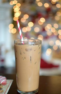 Make my favorite, the Holiday Iced Peppermint Mocha Coffee Recipe with the Ninja Coffee Bar Machine and serve it at your fun DIY coffee station!