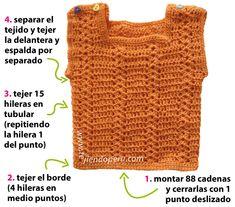 Cómo tejer un conjunto de chaleco y bolsita para bebés a crochet! Crochet Top, Baby Shower, Women, Google, Crocheting, China, Fashion, Vest Jacket, Crochet Smock Tops