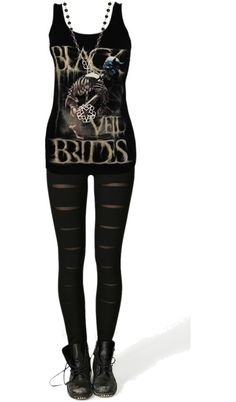 """Black Veil Brides :)"" by bvb3666 ❤ liked on Polyvore"