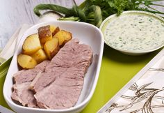 Gekochte Rindsschulter Foto: Mona Lorenz Mona, Kraut, Easy Meals, Chef Recipes