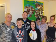 Children in Need celebrations November 2013 at Queen's Hospital, Burton