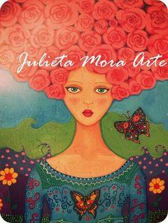 Pintura infantil de Julieta Mora. Argentina.