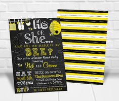 Need to get your hands on invitations quick? Print these invitations yourself right from home or your favorite print shop! Simply fill in the box above with your gender reveal party details. Bumble Bee Invitations, Personalized Invitations, Printable Invitations, Quick Print, Bee Gender Reveal, Gender Reveal Party Invitations, Reveal Parties, Rsvp, Gifts