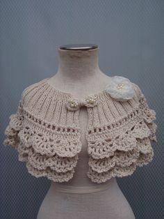 A personal favorite from my Etsy shop https://www.etsy.com/listing/289231935/bolero-shrug-bridal-shawl-wedding-shawl