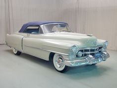 1950 Cadillac Series 62 Convertible Passenger Side Front View