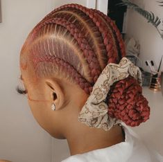 Faux Locs Hairstyles, Black Girl Braided Hairstyles, Twist Braid Hairstyles, Baddie Hairstyles, My Hairstyle, Girl Hairstyles, Hairstyle Ideas, Hair Ideas, Curly Hair Styles