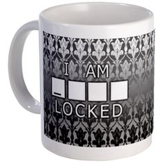 I am Sherlocked Black/White Mug