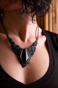<3 macramé jewelry