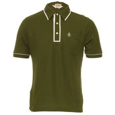 Original penguin olive polo