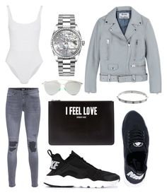 """Untitled #46"" by boturovic-kristina on Polyvore featuring Eres, Acne Studios, NIKE, Givenchy, Rolex, Christian Dior, Cartier and TIGHA"