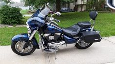2002 Suzuki Intruder VL1500 LC Hydrodipped instead of paint