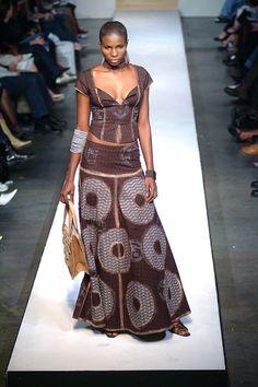 Bongiwe Walaza #AfricaFashion #AfricanPrints, nice dress ...