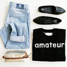 ♥ amateur ♥ #organic #merino #sustainable #fashion ▪shoes / boyfriend jeans / merino jumper 👉 HOST webshop ▪beautycase 👉 online tonight Boyfriend Jeans, Sustainable Fashion, Jumper, Fashion Shoes, Organic, Concept, Photo And Video, Instagram, Jumpers