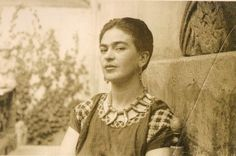 """From the collection of Vincente Wolf, in the book """"Frida Kahlo,"""" edited by Elizabeth Carpenter"""