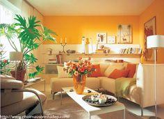 Màu sơn phòng khách theo phong thủy | Trang trí nhà đẹp