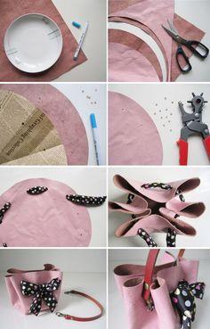 Návod na kabelku, ktorú nemusíte šiť 2