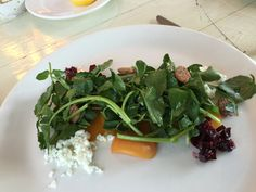 @fearrington Granary goat cheese, beet salad. Beet Salad, Seaweed Salad, Goat Cheese, Beets, Spinach, Salads, Vegetables, Ethnic Recipes, Food