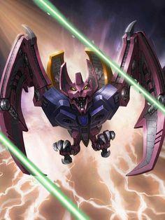 Decepticon Cassette Ratbat Artwork From Transformers Legends Game
