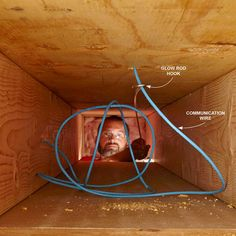 Push Through More Than You Need - 14 Tips for Fishing Electrical Wire Through Walls: http://www.familyhandyman.com/electrical/wiring/fishing-electrical-wire-through-walls