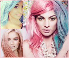 Crazy Pastel Hair Colors 2015 Summer | Hairstyles 2015 / 2016, Hair Colors and Haircuts
