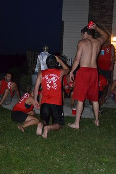 The funniest set of beer Olympics games I've ever seen. The funniest set of beer Olympics games I've ever seen. Olympic Idea, Olympic Games, Beer Olympics Party, Olympics 2015, Beer Games, Party On Garth, Drinking Games For Parties, Adult Fun, Party Games