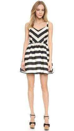 Line & Dot Equilibrium Dress