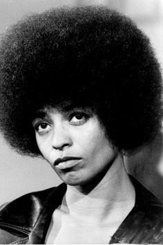 Angela Davis Being Interviewed From Jail.
