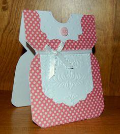 MyNeed2Craft: Little Girl Dress card...