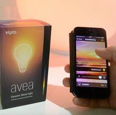 VYFARBITE SI IZBU MOBILOM | Smart žiarovka ELGATO AVEA Mood Light, Mp3 Player, Tech, Technology