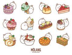Cute Food Drawings, Cute Kawaii Drawings, Cute Animal Drawings, Arte Do Kawaii, Kawaii Art, Kawaii Doodles, Cute Doodles, Food Cartoon, Cute Cartoon