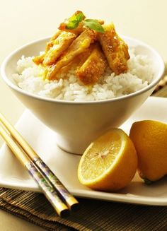 Low FODMAP & Gluten free Recipe - Sticky lemon pork http://www.ibssano.com/low_fodmap_recipe_sticky_lemon_pork.html
