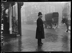 (English policeman, 1900-1919.) Good late Victorian/Early Edwardian image for your imagination.