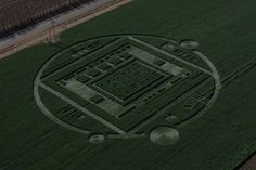 A mysterious 310-foot-diameter crop circle that appeared in a farmer's barley field in Chualar, Calif., was not alien made; rather it was a ...