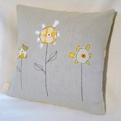 Your childs drawing on a cushion cover by Tailorbird Designs
