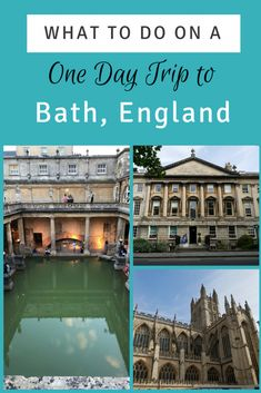 Unforgettable things to do on a Bath day trip. Visit the Roman Baths and Bath Abbey, go shopping in the Guildhall Market and learn about fashion in the Fashion Museum. But first do a free walking tour of Bath. One Day Trip, Day Trips, Europe Continent, European Travel, Travel Europe, Worldwide Travel, Like A Local, City Break, Culture Travel