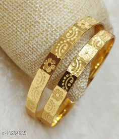Checkout this latest Bracelet & Bangles Product Name: *New Ria Designer Women's Bangles* Plating: Oxidised Gold Sizes:2.2, 2.4, 2.6, 2.8, 2.10 Easy Returns Available In Case Of Any Issue   Catalog Rating: ★4.2 (525)  Catalog Name: New Ria Designer Women's Bangles CatalogID_1865773 C77-SC1094 Code: 602-10284235-534